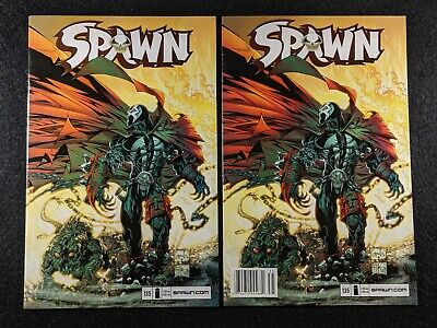 SPAWN #135 Newsstand & Direct Edition Variant Covers! Rare & HTF in single lot!