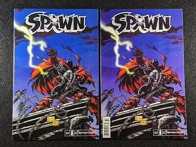 SPAWN #137 Newsstand & Direct Edition Variant Covers! Rare & HTF in single lot!