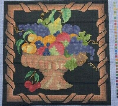 Tapestry - Printed Canvas - Fruit Bowl - Mono Canvas by Coats Patons