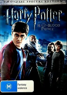 HARRY POTTER And The HALF BLOOD PRINCE New 2 Dvd DANIEL RADCLIFFE ***