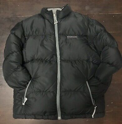Kathmandu Black Sz 6-10yrs Down Puffer Jacket