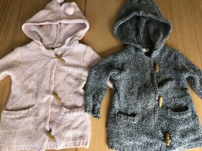 Girls Cotton On Hooded Jumpers Size 2