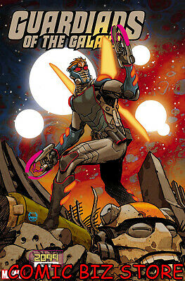 Guardians Of The Galaxy #11 (2019) 1St Printing Johnson 2099 Variant Cover