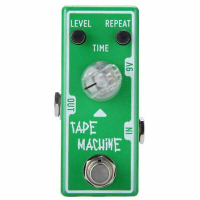 Tone City Tape Machine Delay Guitar Effect Compact Foot Pedal