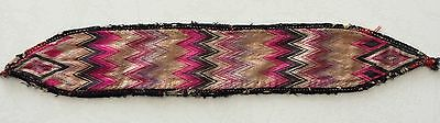 Antik Uzbeki Suzani Embroidery Stirnband Antique headband Kapitalka Huvudband