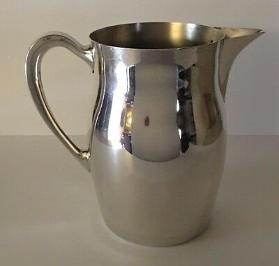 """Vintage Towle Silver Co. Silver Plate Pitcher 7 1/2"""" Tall"""