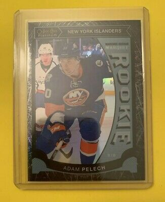 2015-16 Opc Platinum # M47 Adam Pelech Black Ice 31/99