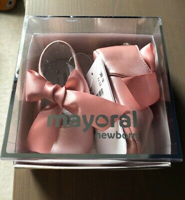 Mayoral Newborn Baby Girl Shoes