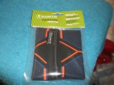 Kunto Fitness Elbow Brace Compression Support Sleeve Tennis & Golf Size M Medium