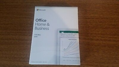 *New Sealed* Office Home & Business 2019 Retail Box For Pc Or Mac T5D-03203