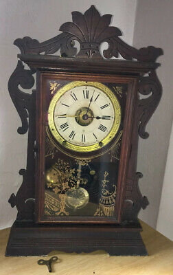 Antique Seth Thomas (Usa) Alarm Shelf Clock