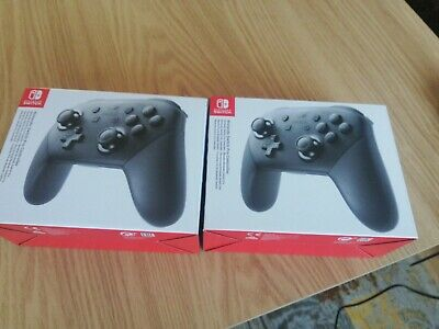 Official Nintendo Switch Pro Wireless Controller Genuine - x2 Brand New Bargain!