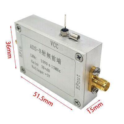 ADS B Accessories RF Amplifier Front End Signal 1090 MHz Modules Power Low Noise