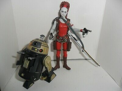 Cazarrecompensas Bounty hunter y Astrodroide Star Wars figura muñecos