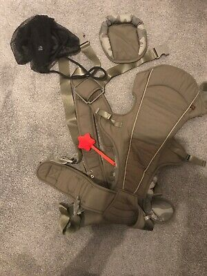 Mothercare 4 Way Baby Carrier - Khaki Camouflage From Birth to 12 kg