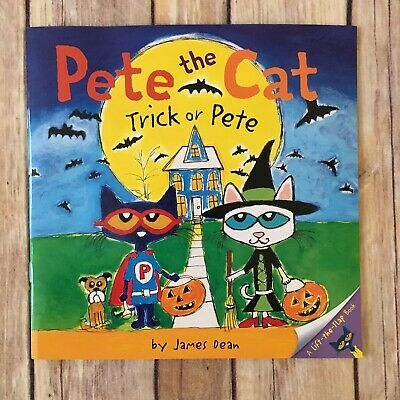 BOOK Pete the Cat: Trick or Pete by James Dean 9780062198709 Children's Holiday
