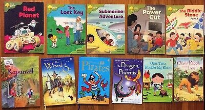 Set of 11 Early Readers books Usborne, Oxford Reading Tree