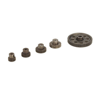 11184 Steel Spur Diff Differential Main Gear Set RC Motor Pinion for HSP HPI