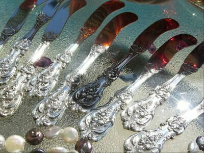 1 All Sterling Silver Butter Spreader Knife Reed Barton Francis 1 Flatware Rare