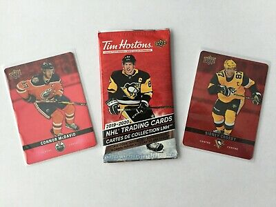 Tim Hortons 2019-20 Upper Deck Hockey Cards U PICK (Base, Red Die DC, HGD & HD)