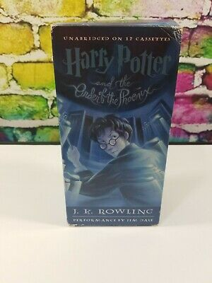 Harry Potter and the Order of the Phoenix Year 5 J. K. Rowling Audio Book 2003