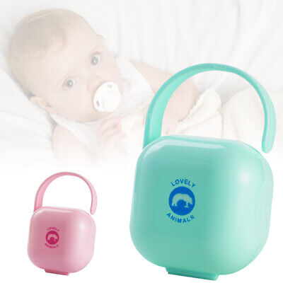 Non Toxic baby Pacifier Storage Box Nipple Dust proof Soother Container