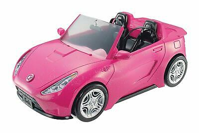 Barbie Glam Car Realistic Convertible Pink Doll 2 Hot Seats Shine Vehicle Sporty