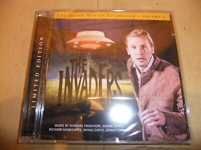 QUINN MARTIN COLLECTION Original TV soundtrack CD VOL 2 THE INVADERS RAY THINNES