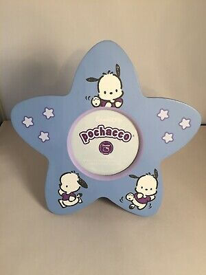 Sanrio 2001 Pochacco Wood Star Photo Frame