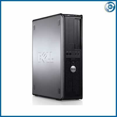 Fast Cheap Full Dell/Hp Dual Core Desktop Pc & Tft Computer System Windows 7/10
