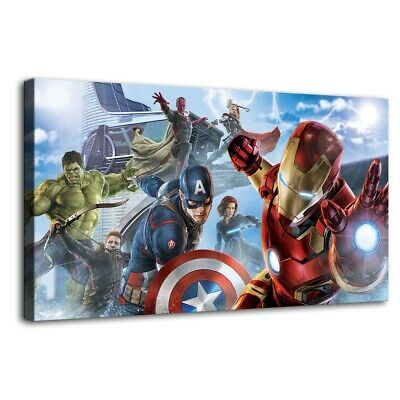 """12""""x22""""The Avengers Photos HD Canvas prints Painting Home Decor Picture Wall art"""