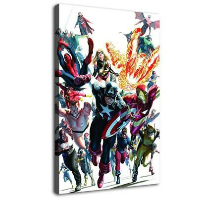"""12""""x18""""Super hero HD Canvas prints Painting Home Decor Picture Room Wall art"""