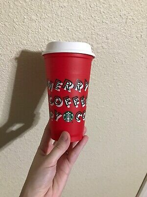 Starbucks 2019 Limited Edition Reusable Red Cup 16oz Grande