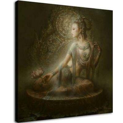 "16""x16""Abstract buddha poster god HD Canvas Prints Home Room Decor Wall picture"