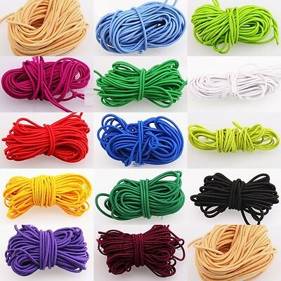 NEW 5M Strong Stretchy Elastic String Thread Cord For DIY Jewelry Making 3mm HOT