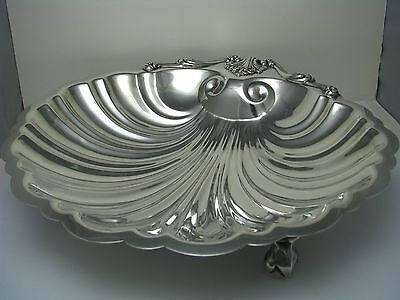 STERLING SILVER DISH SHELL SEAFOOD PLATE BOWL by Frank Whiting-J.E.Caldwell 1900