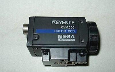 1PC Used KEYENCE CV-200C industrial color vision CCD camera