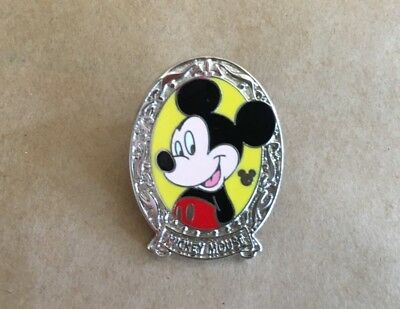 2011 Disney pin oval Character Frames ~ Mickey Mouse ~ Hidden Mickey  ~ 1 of 5