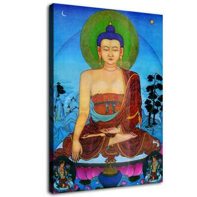 "16""x22""Abstract buddha god posters HD Canvas Prints Home Wall art picture 43"