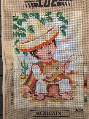 Tapestry - Printed Canvas - Mexicain - LUC