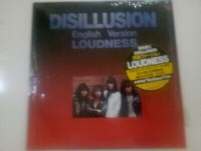 LOUDNESS DISILLUSION English Version LP Columbia Japanese press