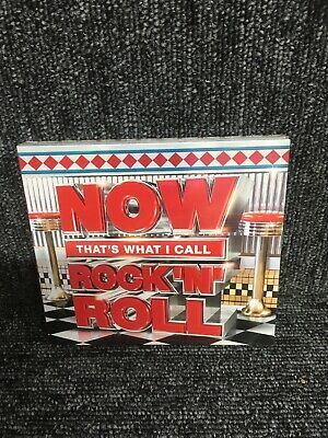 Now That's What I Call Rock N Roll (3Cd Set 2018) New/Sealed...fast Post