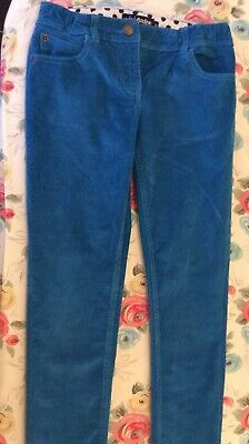 FABULOUS Girl's MINI BODEN Cord Skinny Trousers Age 10 VGC