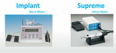 Micro Motor Dental Engine clinical and phanthom Supreme Motor with 35000 RPM