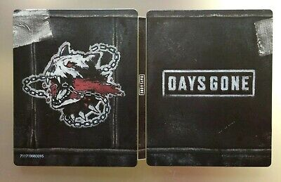 Days Gone PS4 Steelbook Case, Brand NEW Mint Condition, Limited Stock *no game*