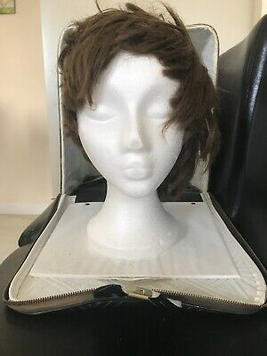 Vintage Wig And Stand