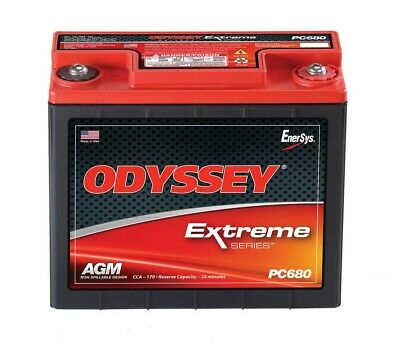 ODYSSEY BATTERY Battery 170CCA/280CA M6 Female Terminal P/N - PC680