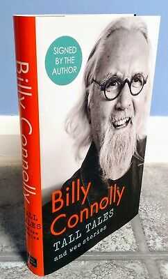 **SIGNED** Tall Tales and Wee Stories Billy Connolly First Edition Hardback Book