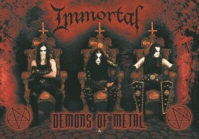 DEMONS OF METAL IMMORTAL FABRIC POSTER HFL0638 30x40 WALL HANGING
