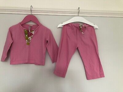 Le Marchand D'Etoiles Girls Pjs Age 2 Years